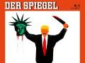 Der Spiegel вызвал фурор обложкой с изображением Трампа