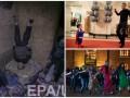 День в фото: Обама с Суперменом, сирийские дети и танцы в Лондоне