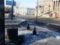 В Лисичанске вандалы повредили памятник  погибшим в АТО добровольцам