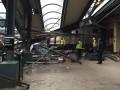 В США поезд врезался в станцию, пострадали более 100 человек