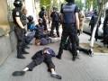 В Киеве националисты подрались с полицией