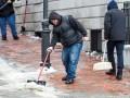 В Киеве за сутки от гололеда пострадали 65 человек