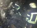 В Киеве сгорел дом, двое погибли