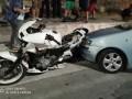 В Греции авто въехало в группу демонстрантов