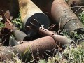 В Киеве на Печерске нашли 13 снарядов времен войны