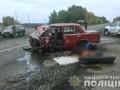 В Полтавской области столкнулись четыре авто, есть жертвы