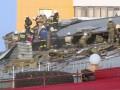 В Казахстане загорелось российское посольство: видео пожара