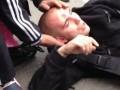 В Москве после группового избиения полицейского кавказцами началась