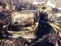 Боевики обстреляли Новоселовку, сожгли машину местного жителя