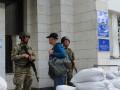 Военные у здания Дарницкой РГА напугали киевлян