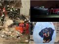 Итоги выходных: обвал дома в Польше, столкновение поездов в Москве и кража писанки в Киеве