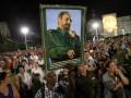На Кубе прошла церемония прощания с Фиделем Кастро
