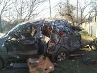 На Луганщине военные устроили ДТП с двумя погибшими