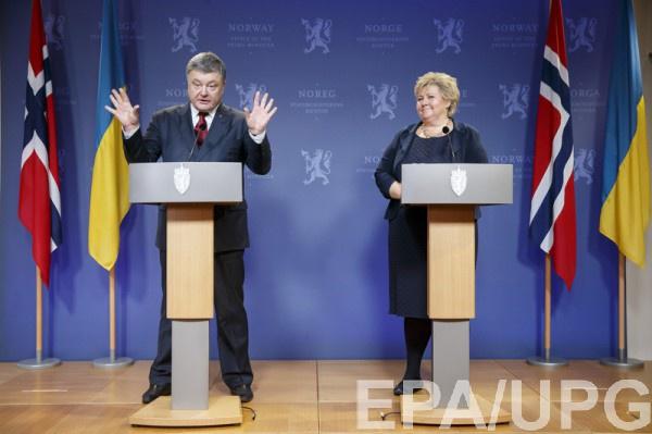 Есть много различных проектов сотрудничества Украины с Норвегией