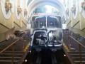 В Киеве неизвестные разрисовали отремонтированный фуникулер