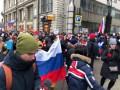 В центре Москвы протестующие спели