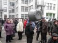 В Харькове неизвестный похитил палатку у протестующих чернобыльцев