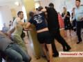 В Николаевской мэрии подрались зоозащитники с директором приюта