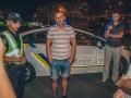 В Киеве на Оболони пьяный водитель разбил семь авто