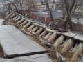 Оползень в Киеве чуть не разрушил многоэтажку