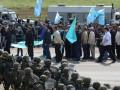 За акцию в поддержку Джемилева оштрафовали 49 крымских татар