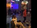 На Крещатике пьяная компания разгромила террасу кафе
