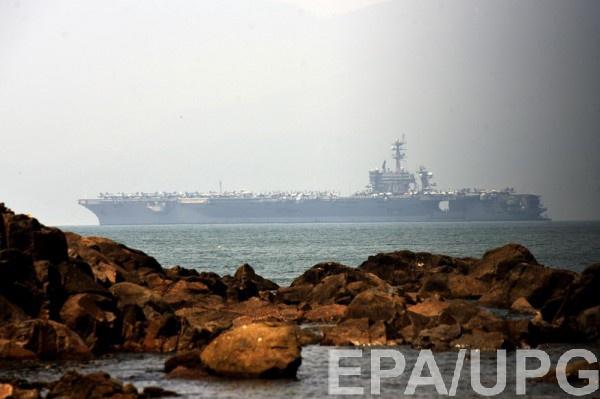 Авианосец США вошли во вьетнамский порт Дананг
