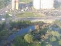 На Позняках засыпают озеро ради нового строительства