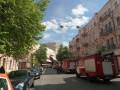 В Киеве в доме Гинзбурга ликвидировали пожар