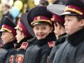 Будущие защитники Украины: Кадеты растрогали Порошенко своей кричалкой
