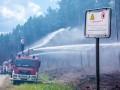 Масштабный лесной пожар бушует на севере Германии