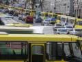 В Киеве сотрудники ГАИ задержали пьяного водителя маршрутки