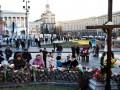 День в фото: годовщина Евромайдана и объятия Порошенко