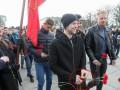 Тимощук пришел на парад в России с георгиевской лентой