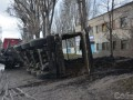 В Каменском 20 тонн фекалий залили здание МВД