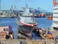 Впервые за 21 год Польша спустила на воду новый боевой корабль