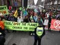 В Лондоне прекратились митинги экоактивистов после запрета полиции