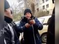 В Одессе засняли, как полицейская крыла матом людей и толкалась
