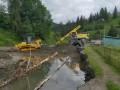 На Западной Украине стихия разрушила более 200 км дорог и 96 мостов