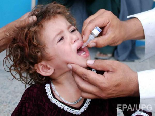 С 25 января в Украине стартует третий этап вакцинации от полиомиелита