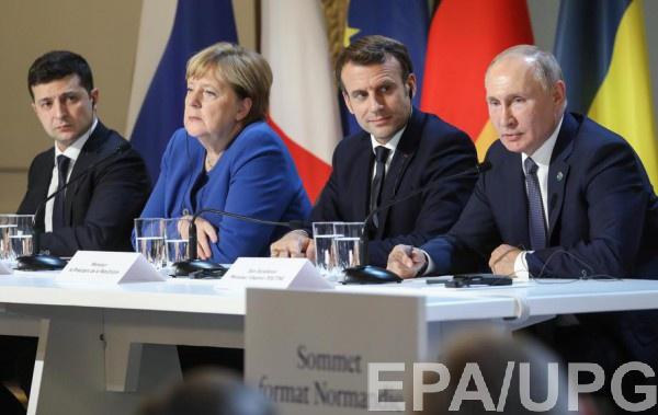 Зеленский по итогам саммита нормандской четверки сообщил, что вопрос транзита газа был разблокирован