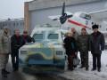 На киевском заводе Антонов создали бронеавтомобиль для бойцов АТО