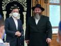 Зеленский посетил синагогу в Херсоне, чтобы поговорить с раввином
