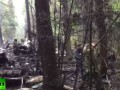 Появилось видео с места крушения истребителя Су-27