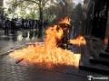 Возле здания ГПУ произошли стычки между полицией и националистами