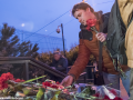 В Киеве почтили память жертв терактов в Брюсселе