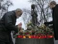 Итоги выходных: Память жертв голодоморов и первый снег в Киеве