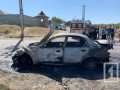 В Днепропетровской области авто столкнулось с маршруткой и загорелось