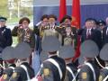 11-летний сын Лукашенко пришел на парад Победы в маршальской форме