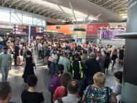 В аэропорту Борисполь огромные очереди из-за безвиза и кибератаки